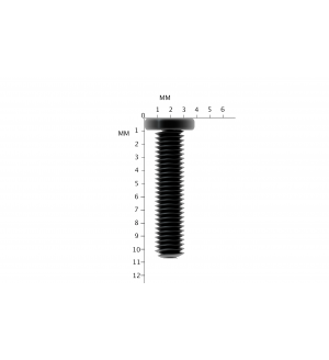 1000X Replacement Black Laptop Screws M2X10mm Philips Drive Screw M2X10L PM2X10.7