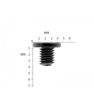 Replacement Black Philips Drive Laptop Screws M2.5X3mm Screw lot M2.5X3L PM2.5X3.0