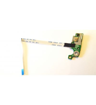 Replacement Power Board Button for HP 15-A Keyboard Series p/n LS-C701P With Cable