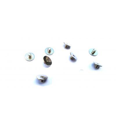 10x Silver Screws M2.5x2.5mm M2.5x2.5L PM2.5X2.5 Broadhead 7mm Philips Drive
