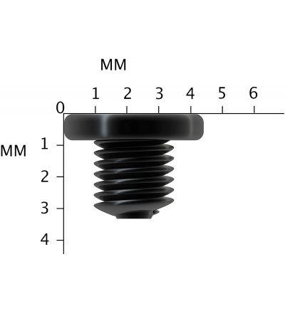 Replacement Black Philips Drive Laptop Screws M2.5X2.5mm Screw lot M2.5X2.5L PM2.5X2.5