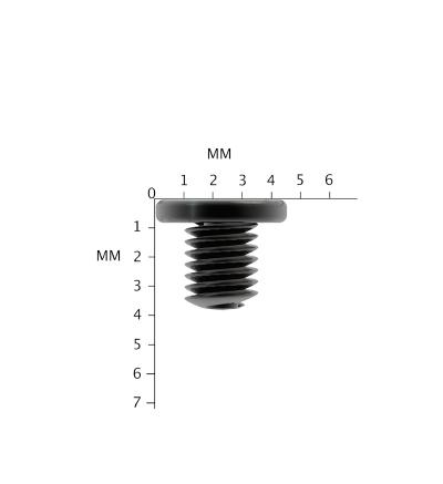 12x Replacement Black m2.5x3mm for HP Envy 13-d008na laptop Screws M2.5X3L PM2.5X3.0 (PM2.5x3.4) Phillips Drive