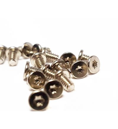 12x Replacement Silver T5 M2x3mm Torx Base Screws for Zenbook asus UX510 Small Laptop Screw