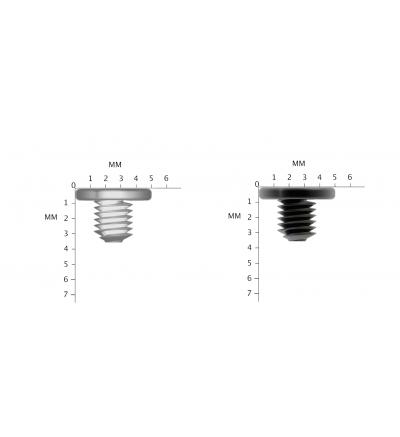 12X M3x3mm Screws for SATA 2.5