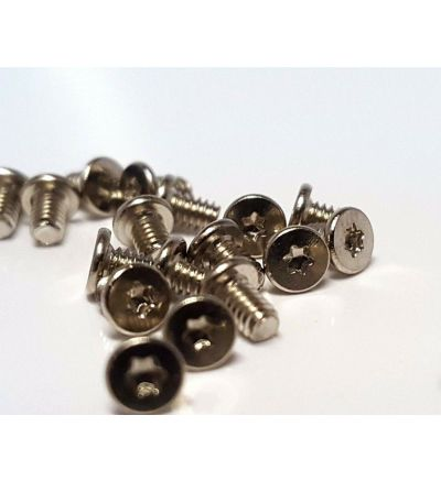 12x  Replacement Base Underside Silver T5 Torx Screws for DELL XPS 15 9570 2018