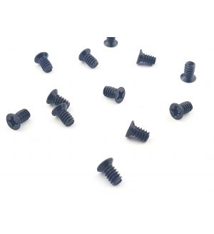 6-32X6.10MM head Diameter 5.2mm screw 100 degree Angle Black Countersunk Server Caddy Screws for 3.5