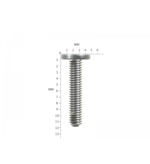 1000X Silver M2x11mm M2x11L PM2.0X11.0 Laptop Screws Wafer Head Machine Screw