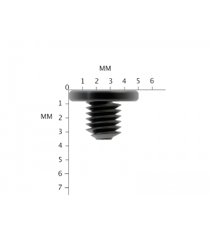 50X Replacement Black Laptop Screws M3X3mm Philips Drive Screw M3X3L PM3X3.0