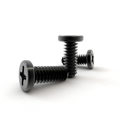 M2X6mm M2.0x6L M2.00x6.00mm Silver or Black Machine Screws for Laptop Computers